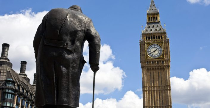 Churchill's Statue, Parliament Square