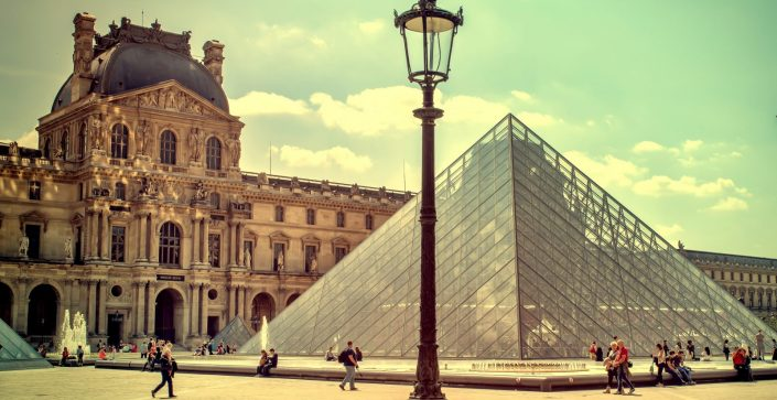 Louvre Pyramid, Paris