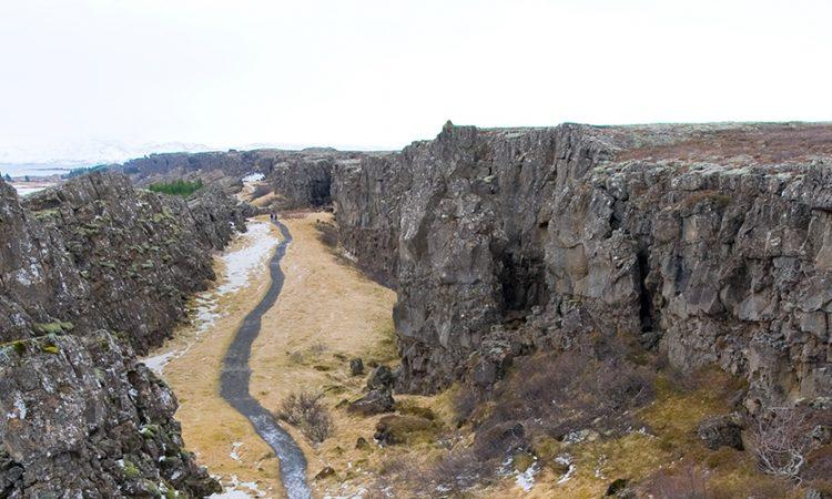 Pingvellir Valley, Iceland
