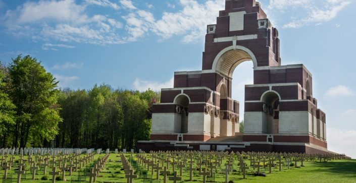 Thiepval Memorial, Albert
