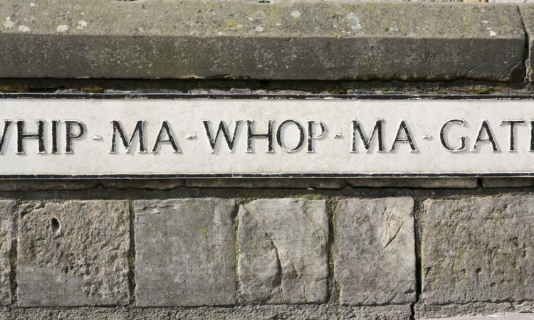 Whip Ma Whop Ma Gate, York