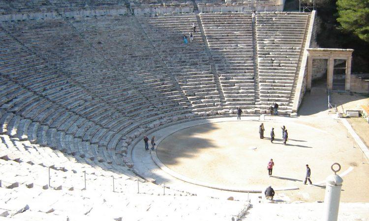 Theatre at Epidaurus, Greece